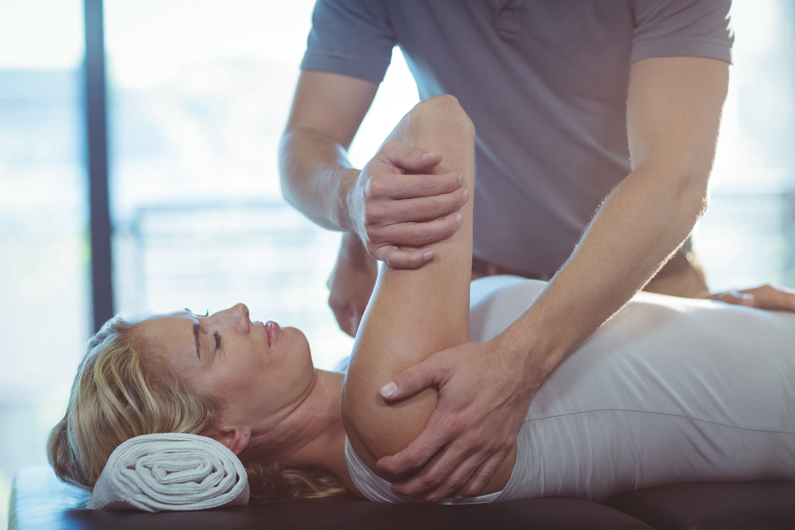 Physio Treatment for HShoulder Pain